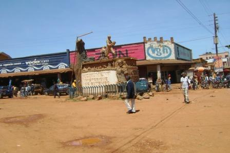Centre ville de Butembo (crédit photo) Ganza Buroko